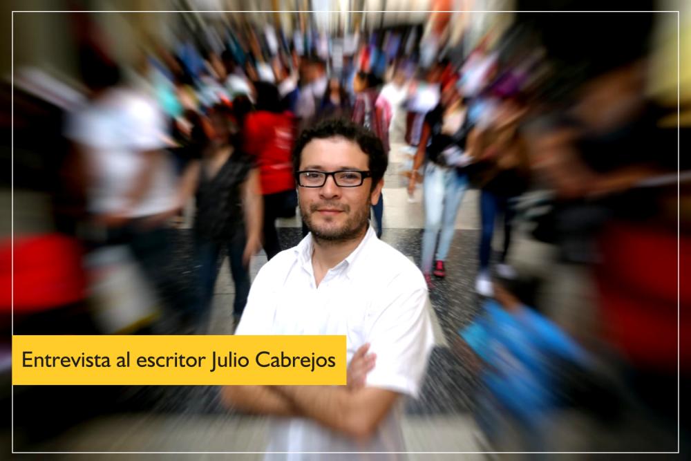 Julio Cabrejos: «Es una oportunidad de oro para encontrarnos con la lectura»
