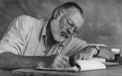 Artículo| Las lecturas que Ernest Hemingway recomienda para convertirte en escritor