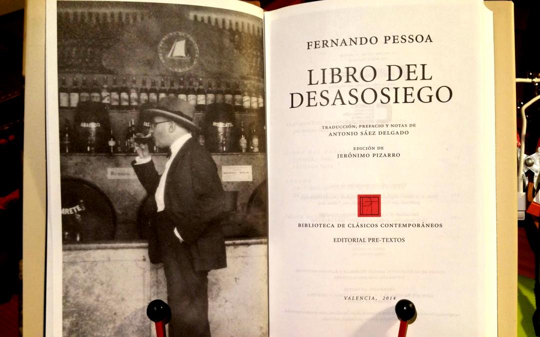 Artículo  Las ediciones del desasosiego. 133 años de Fernando Pessoa