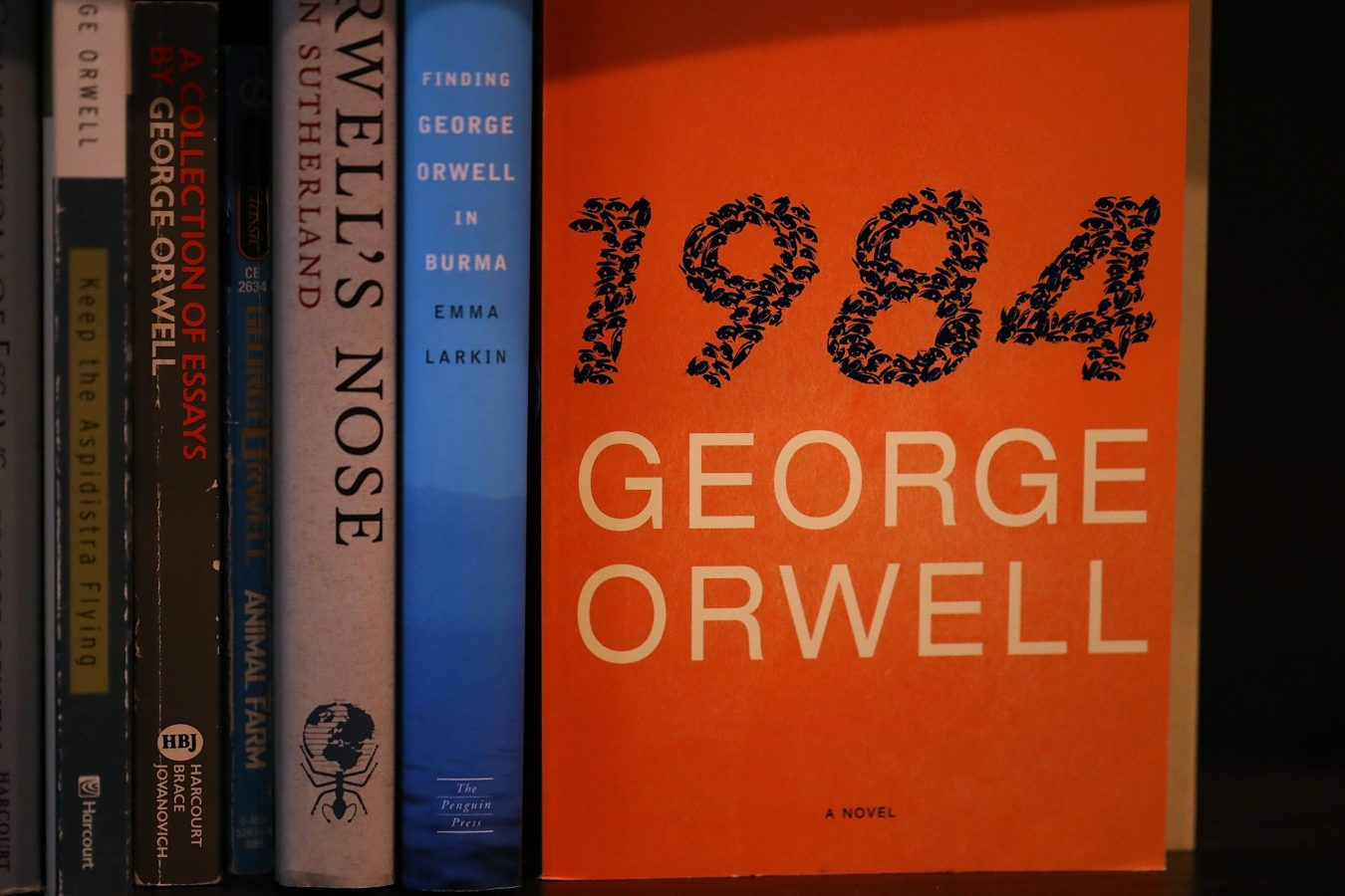 George Orwell's Dystopian Novel 1984 Tops Best Seller LIst, Publisher Orders Additional Printing